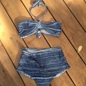 Mara Hoffman Reversible Peacock Bikini